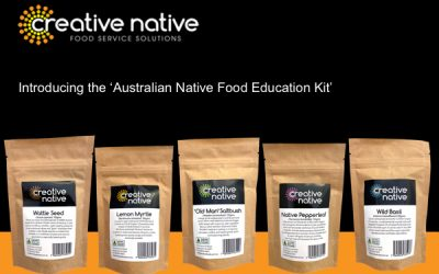 Australian Native Food Education Kit is now available.