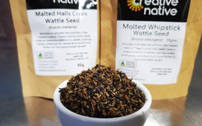 Malted Wattle Seed – Halls Creek & Whipstick
